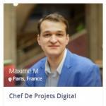 Maxime M. - Chef de projet digital