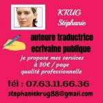Stéphanie K. - Traductrice anglais français français anglais