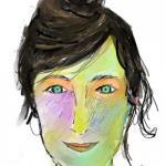 Delphine - Artiste plasticienne, graphiste, designer textile