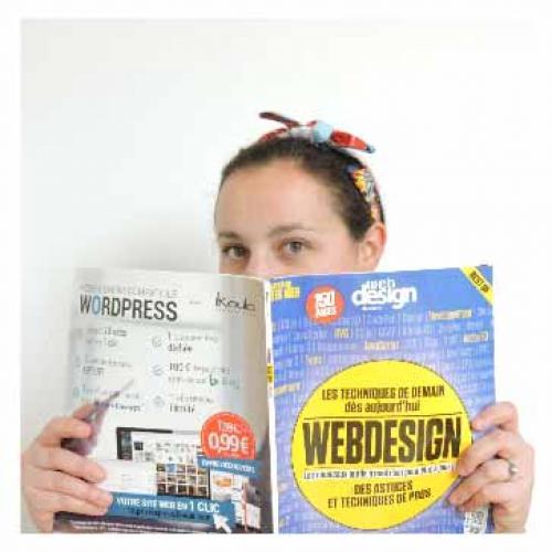 Julie V. - Webdesigner